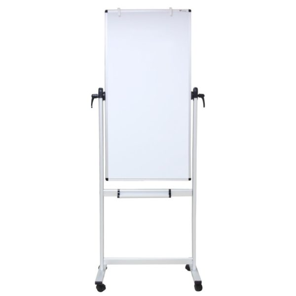Portrait Double-sided dry-erase whiteboard