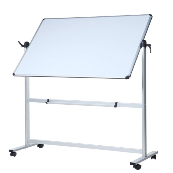 Double-Sided Magnetic Mobile Whiteboard