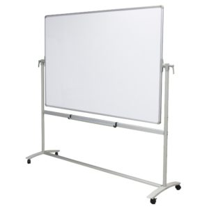 VIZ-PRO-Double-Sided-Magnetic-Mobile-Whiteboard-Steel-Stand-B073PWLMFG-2