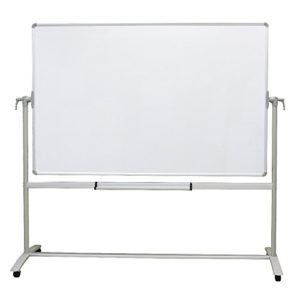 VIZ-PRO-Double-sided-Magnetic-Mobile-Whiteboard-72-x-40-Inches-Steel-Stand-B07F8KP221