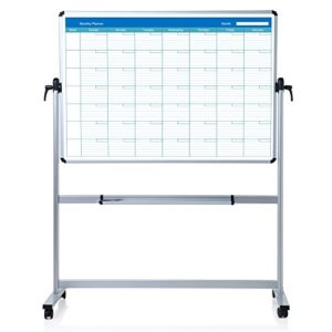 VIZ-PRO-Double-sided-Magnetic-Mobile-Whiteboard-B01MD1LODG