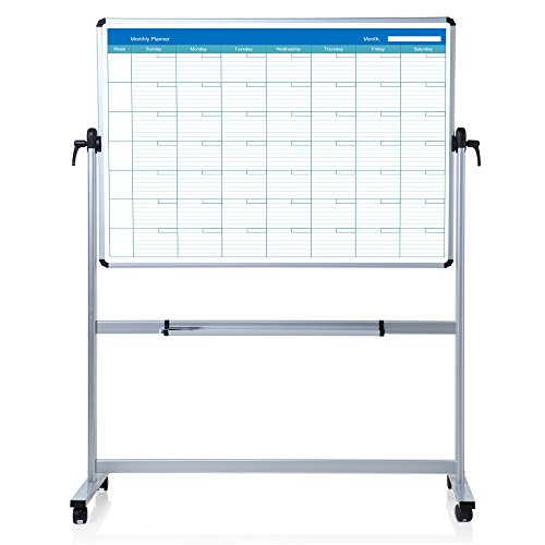 VIZ-PRO-Double-sided-Magnetic-Mobile-Whiteboard-B01MD1LODG