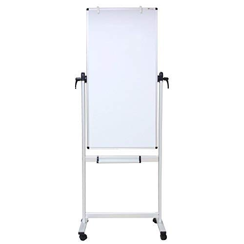 Narrow Double Sided Magnetic Mobile Whiteboard