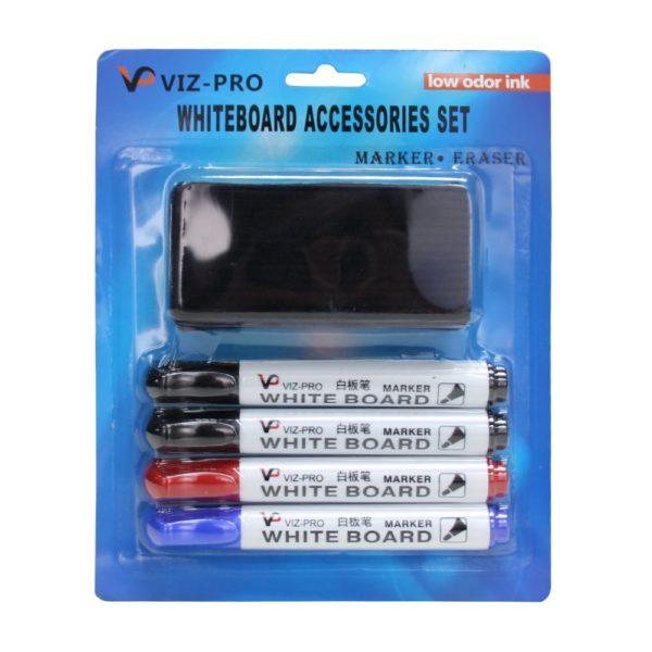VIZ-PRO-Low-Odor-Dry-Erase-Set-Round-tip-B071HFSP8Q