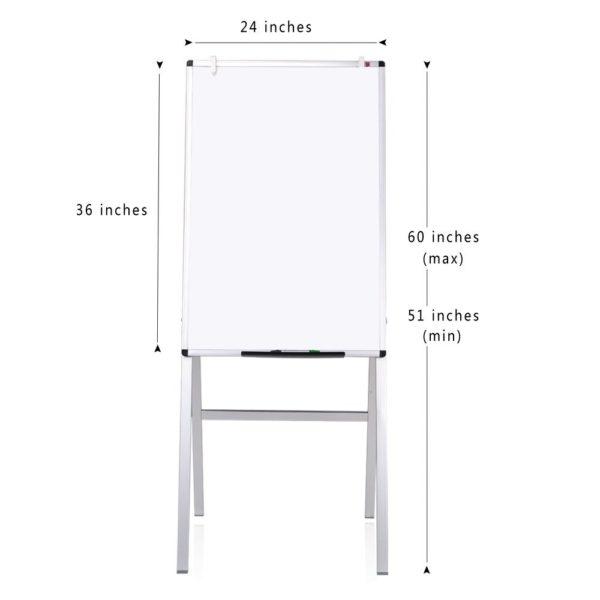 VIZ-PRO-Magnetic-H-Stand-WhiteboardAdjustable-Dry-Erase-Easel-B01GYDAA9C-2