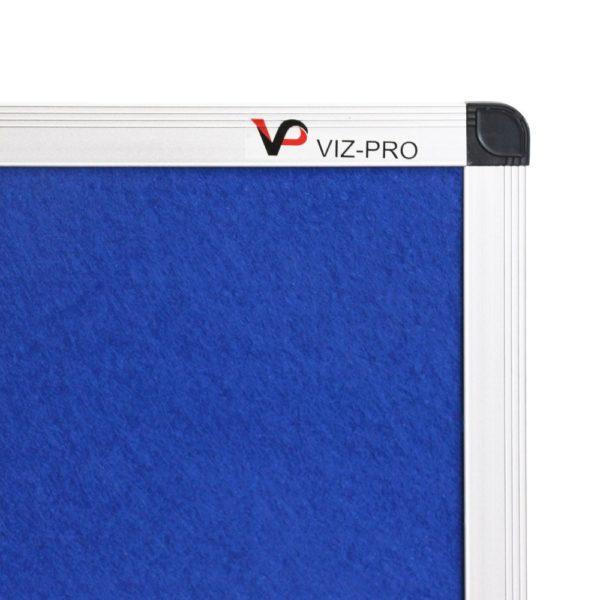 VIZ-PRO-Notice-Board-Felt-Blue-Silver-Aluminium-Frame-B00XIXA5Y2-2