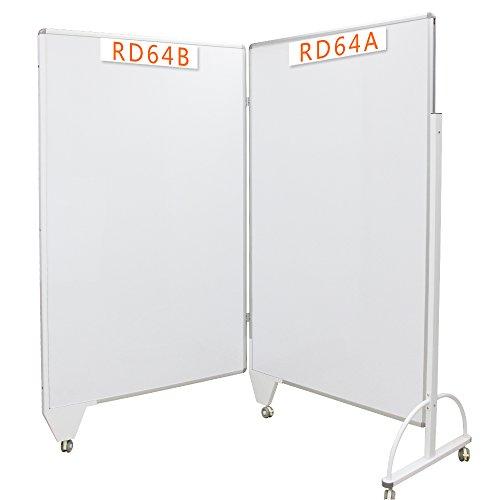 VIZ-PRO-Room-Divider-BoardOffice-PartitionDouble-Sided-Magnetic-Mobile-Whiteboard-B06XMXPKPX