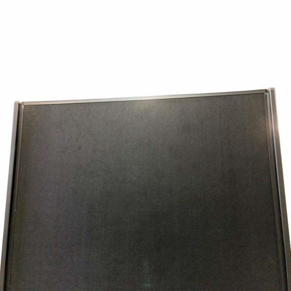 VIZ-PRO-Room-DividerOffice-Partition-2-Pack-Double-Sided-Notice-Board-Felt-Black-48Wx96H-B07K19V49W-4