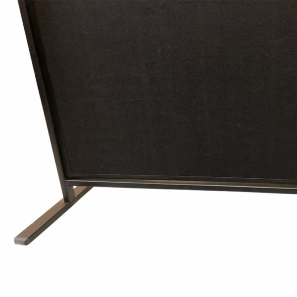 VIZ-PRO-Room-DividerOffice-Partition-2-Pack-Double-Sided-Notice-Board-Felt-Black-48Wx96H-B07K19V49W-6