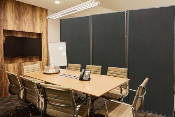 VIZ-PRO-Room-DividerOffice-Partition-2-Pack-Double-Sided-Notice-Board-Felt-Black-48Wx96H-B07K19V49W-7