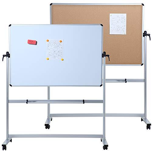 Variation-B07NZMJ3ZJ-of-VIZ-PRO-Double-sided-Magnetic-Mobile-Whiteboard-B01MREFJJH-613