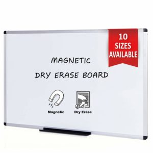 """Magnetic Dry Erase Board 40"""" x 30"""""""