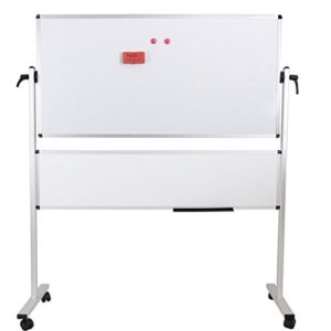 Viz-Pro-Double-Sided-Magetic-Mobile-Whiteboard-whiteboard-plus-whiteboard-Aluminium-Frame-Stand-B016Q0SAOA