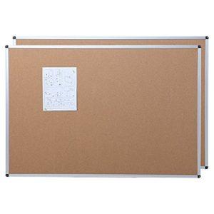 Viz-pro-Cork-Notice-Board-24-X-18-Inches-Silver-Aluminium-Frame-B00U3F18UI