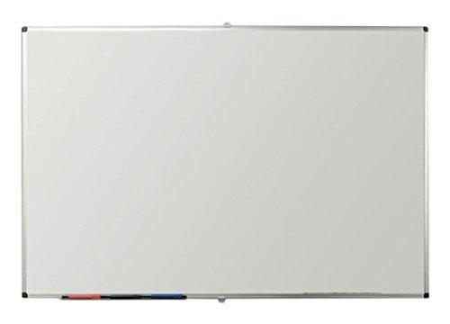 Viz-pro-Porcelain-Magnetic-Dry-erase-Whiteboard-Silver-Aluminiuim-Frame-B00U3COCOA