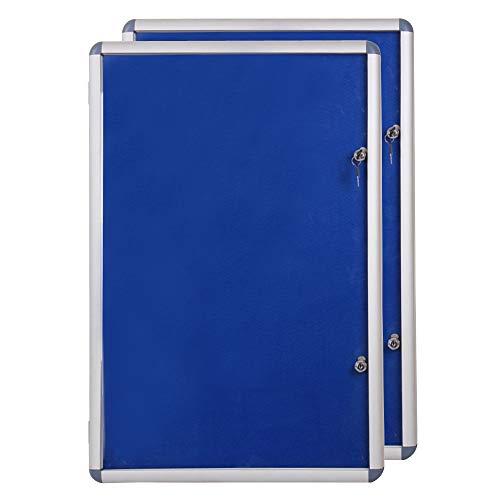 Viz-pro-Tamperproof-Lockable-Noticeboard-Class-1-Aluminium-Framed-B01CRXZI72